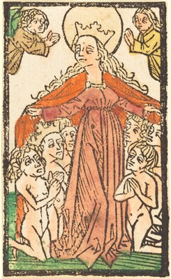 Madonna as a Protectress