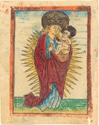 Madonna and Child in a Glory
