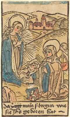 Madonna and Saint Bridget