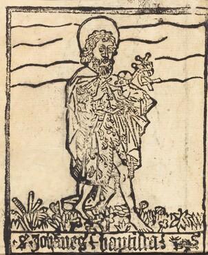 Saint John the Baptist [recto]