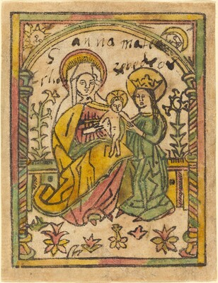 Saint Anne with the Madonna and Child