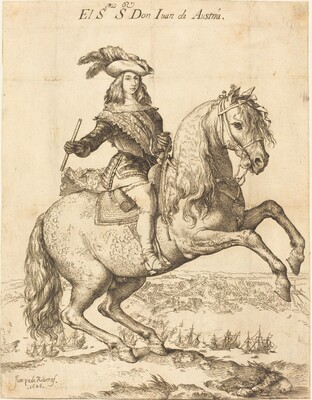 Equestrian Portrait of Don Juan de Austria