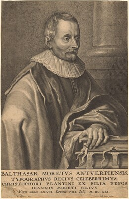 Balthasar Moretus of Antwerp