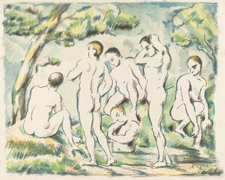 The Bathers (Small Plate)