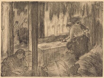 The Laundresses (Les blanchisseuses (La repassage))