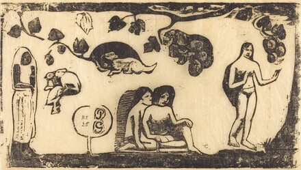 Women, Animals and Foliage (Femmes, animaux et feuillages)