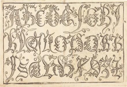 Ornamental Alphabet