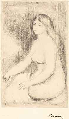 Seated Bather (Baigneuse assise)