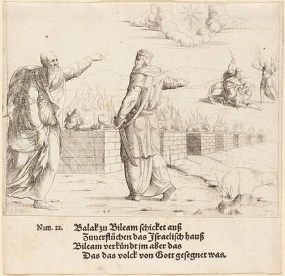 Balak's Sacrifice, and Balaam's Prophecy