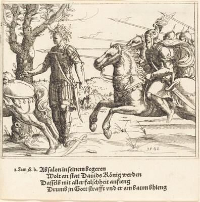 Absalom Slain by Joab