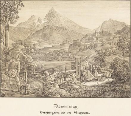 Donnerstag - Berchtesgaden und der Watzmann (Thursday - Berchtesgaden and the Watzmann Mountain)