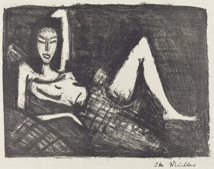 Girl on a Couch (Madchen auf dem Kanapee)