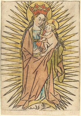The Madonna and Child with a Pear