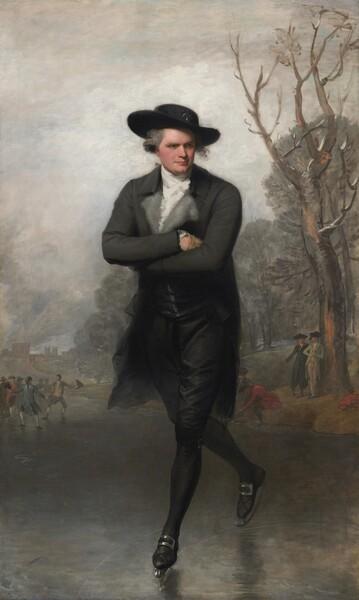 The Skater (Portrait of William Grant)