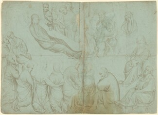 Netherlandish 14th Century, The Death of the Virgin, c. 1390