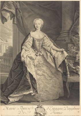 Marie Therese of Spain, Dauphine of France