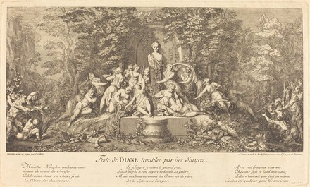 Feste de Diane, Troublee par des Satyres (Feast of Diana Disrupted by Satyrs)