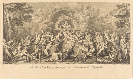 Feste du Dieu Pan, celebree par des Sylvains et des Nymphes (Feast of the God Pan Celebrated by Sylvans and Nymphs)