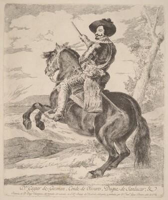 Gaspar de Guzman, Conde Duque de Olivares