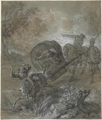 La Rancune en brancard, abattu dans le bourbier