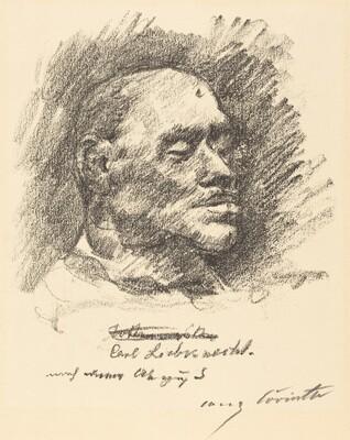 Carl Liebknecht (Totenmaske Liebknechts)