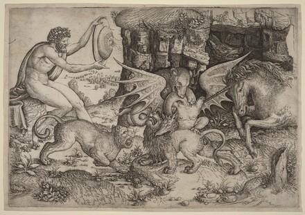 Allegorical Theme: Combat of Animals