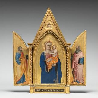 Saint Peter [left panel]