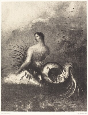 La sirene sortit des flots vetue de dards (The Siren clothed in barbs, emerged from the waves