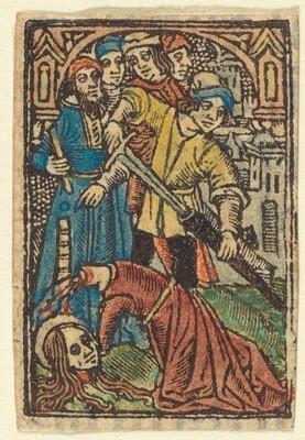Beheading of Saint Catherine (?)