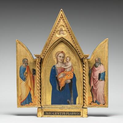 Saint John the Evangelist [right panel]