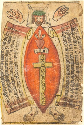 The Wounds of Christ with the Symbols of the Passion
