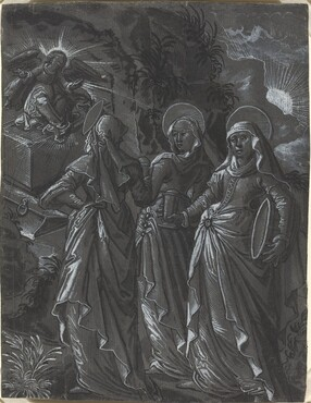 The Three Women at the Tomb [recto]
