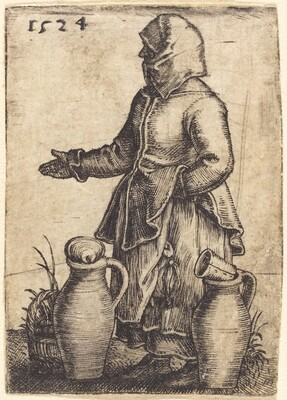 Peasant Woman with Two Jugs