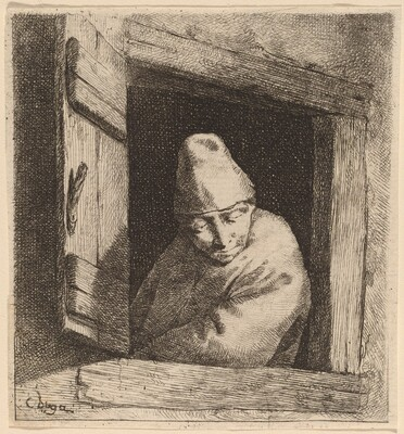 The Peasant in a Window