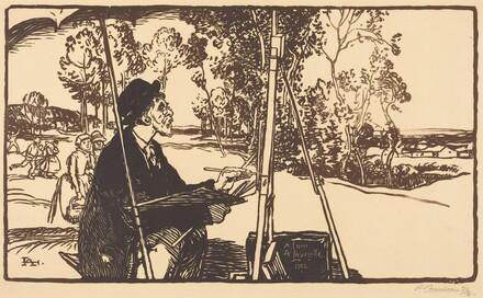 The Landscape Artist (Le paysagiste)
