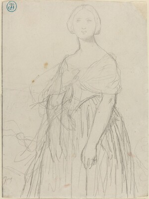 Sketch for Madame Moitessier