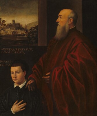 Portrait of a Man and Boy