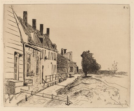 The Houses on the Canal Bank (Les Maisons au bord du canal)