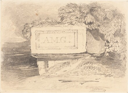Ruined Tomb Inscribed A.M.G.