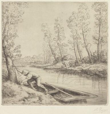 Morning along the River (La matin sur la riviere)