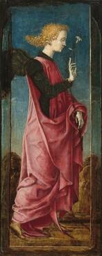The Archangel Gabriel [middle left panel]