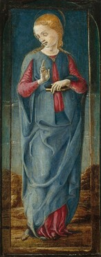 The Virgin Annunciate [middle right panel]