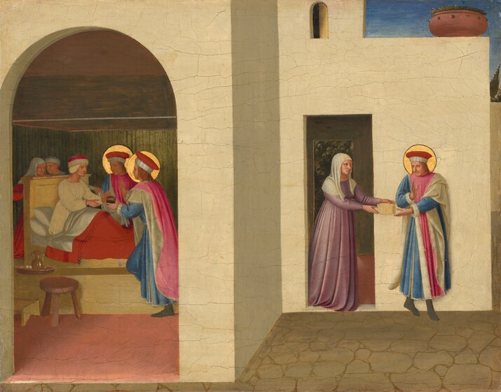 Fra Angelico, The Healing of Palladia by Saint Cosmas and Saint Damian, c. 1438/1440