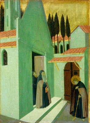 Saint Anthony Leaving His Monastery