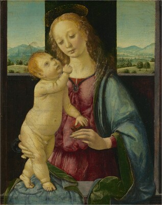 Madonna and Child with a Pomegranate