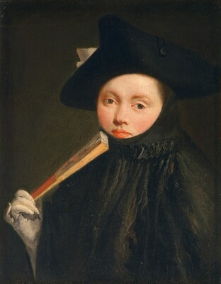 Young Lady in a Tricorn Hat