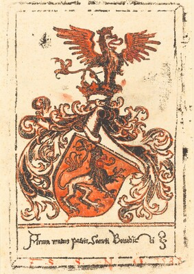 Bookplate of the Abbey of Ottobeuren