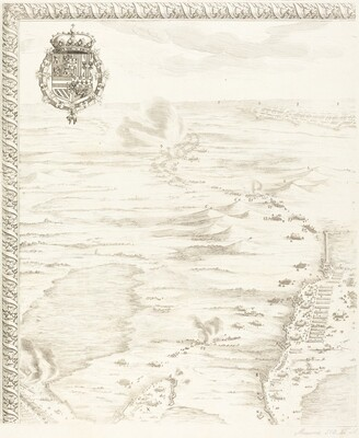 The Siege of Breda [plate 1 of 6]