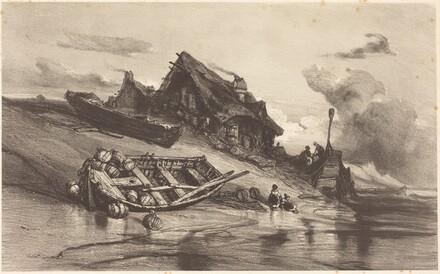 Chaumières de pêcheurs