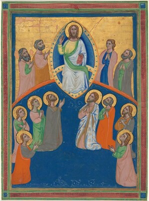 Christ in Majesty with Twelve Apostles